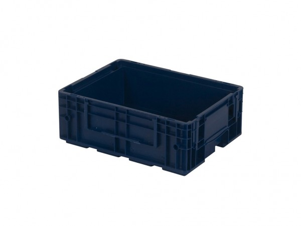 VDA R-KLT 4315 stapelbak - 396x297x H147 mm - blauw