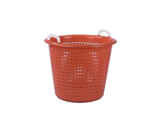 Industriemand / Wasmand 55 liter - oranje