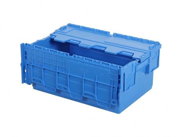 Distributiebak 600x400xH265mm - blauw