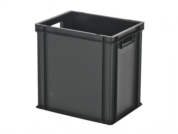Stapelbak / Bordenbak - 400x300xH400mm - zwart