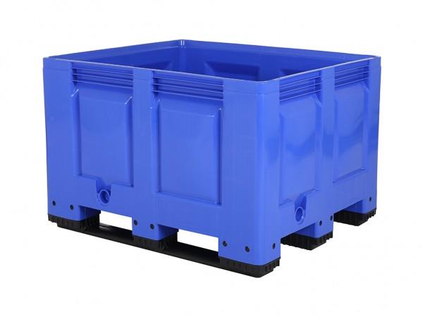 Palletbox - 1200x1000mm - 3 sledes - blauw