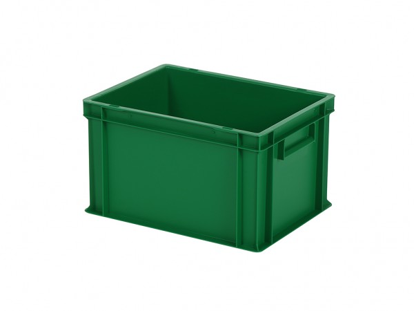 Stapelbak / Bordenbak - 400x300xH236mm - groen