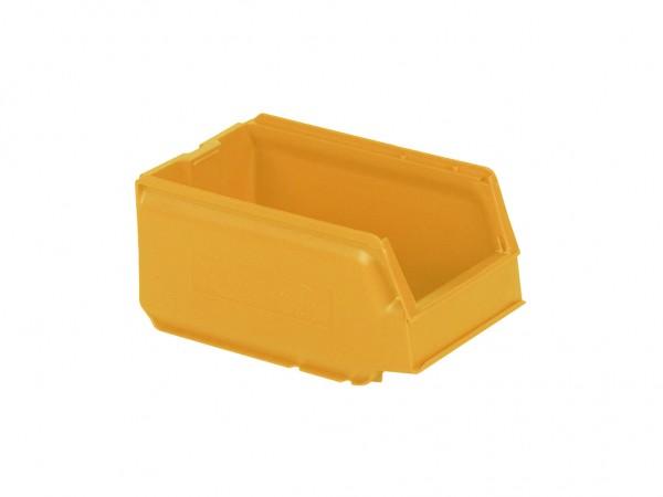 Kunststof magazijnbak - 250x148xH130mm - geel