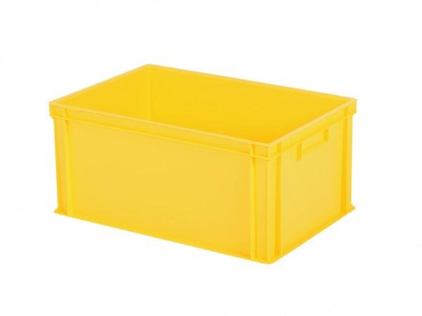 Stapelbak - 600x400xH280mm - geel