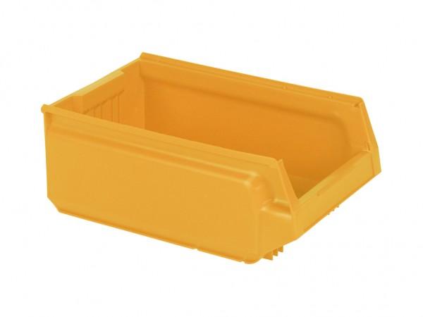 Kunststof magazijnbak - 500x310xH200mm - oranjegeel