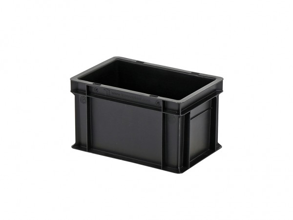 Stapelbak - 300x200xH175mm - zwart