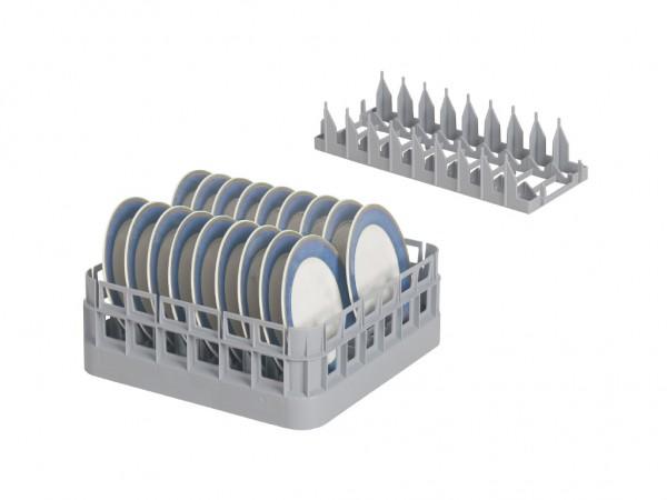 Bordeninzetrek PI400 - voor bistrokorven 400x400mm & 500x500mm - grijs
