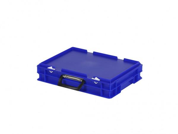 Koffer - 400x300xH90mm - blauw