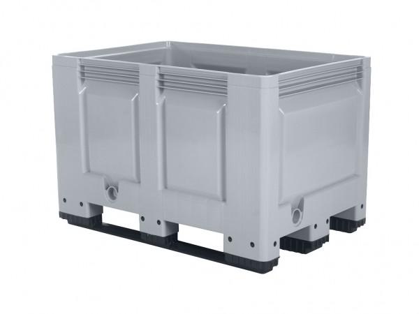 Palletbox - 1200x800mm - 3 sledes - grijs
