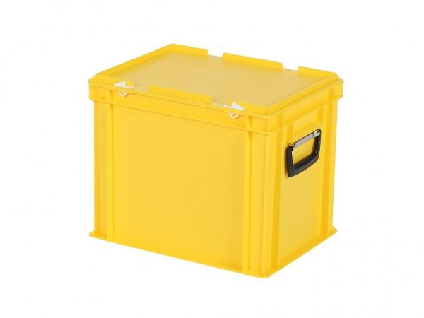 Koffer - 400x300xH335mm - geel