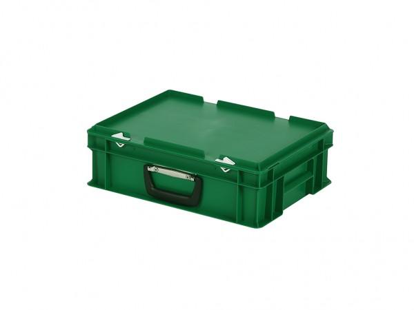 Koffer - 400x300xH133mm - groen
