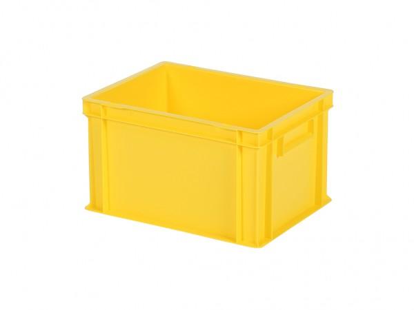 Stapelbak / Bordenbak - 400x300xH236mm - geel