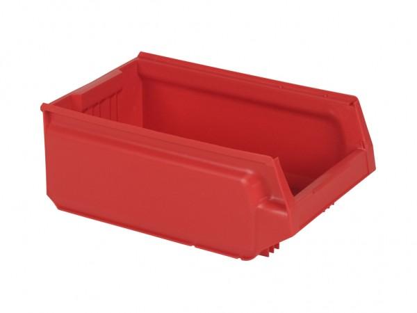 Kunststof magazijnbak - 500x310xH200mm - rood