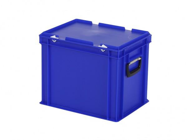 Koffer - 400x300xH335mm - blauw