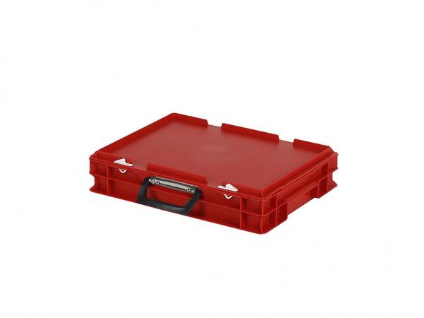 Koffer - 400x300xH90mm - rood