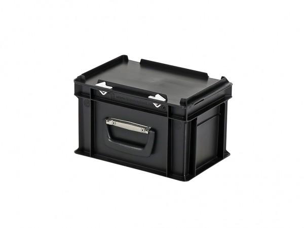 Koffer - 300x200xH190mm - zwart