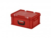 Koffer - 400x300xH190mm - rood 30.418.KO.4