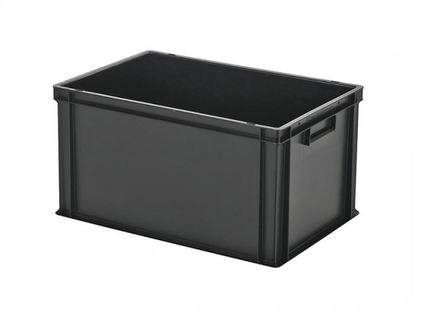 Stapelbak - 600x400xH320mm - zwart