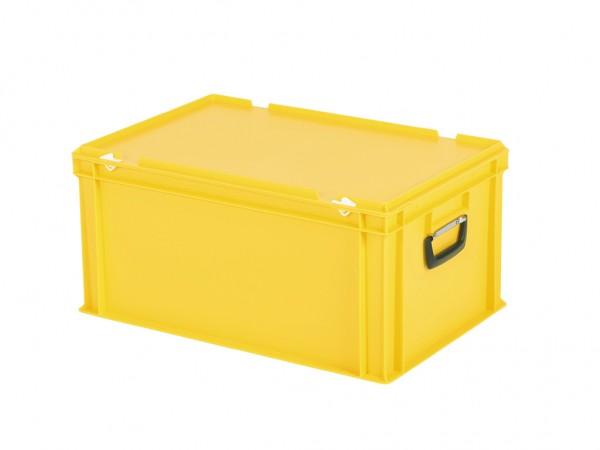 Koffer - 600x400xH295mm - geel