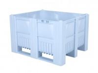 Palletbox - 1200x1000mm - 3 sledes - lichtblauw 83281300