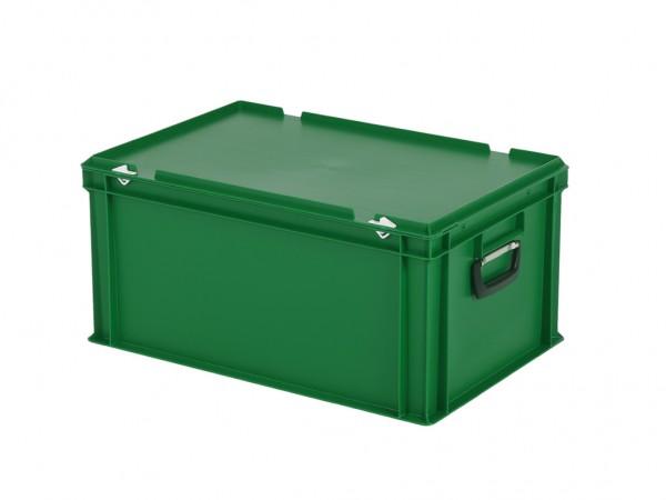 Koffer - 600x400xH295mm - groen
