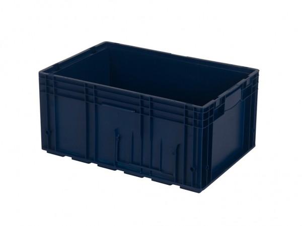 VDA R-KLT 6429 stapelbak - 594x396xH280mm - blauw