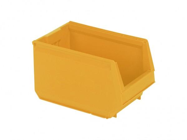 Kunststof magazijnbak - 350x206xH200mm - geel