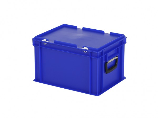 Koffer - 400x300xH250mm - blauw
