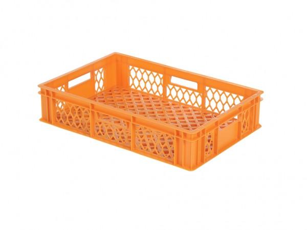 Stapelkrat - 600x400xH130mm - oranje
