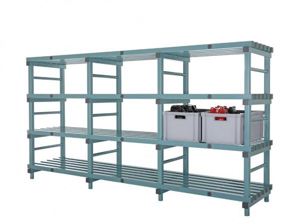 Kunststof Euro stelling - 2800x600xH1520mm