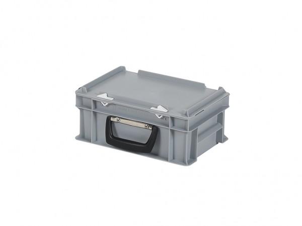 Koffer - 300x200xH133mm - grijs