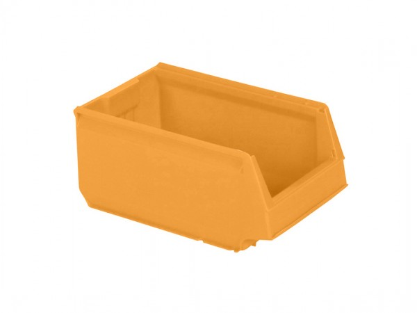 Kunststof magazijnbak - 350x206xH150mm - oranjegeel