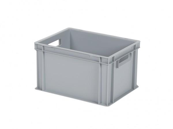 Stapelbak / Bordenbak - 400x300xH236mm - grijs
