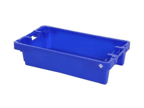 Viskist - 800x450xH190mm - 20kg - 35l - blauw