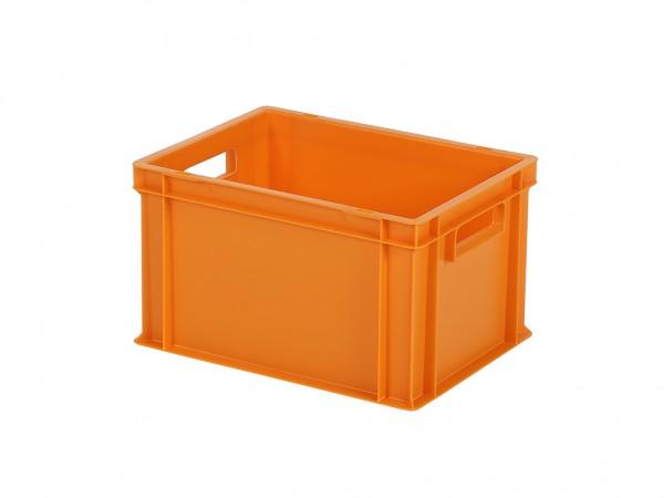 Stapelbak / Bordenbak - 400x300xH236mm - oranje