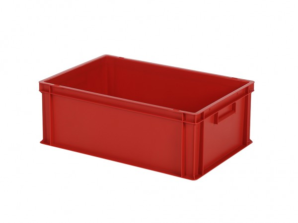 Stapelbak - 600x400xH220mm - rood