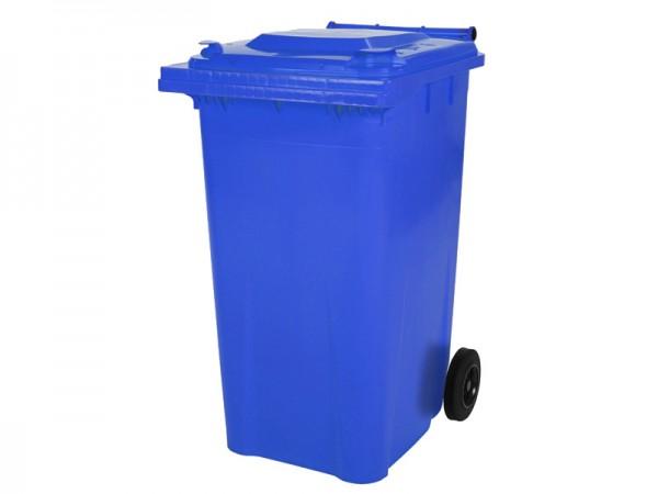 2-wiel afvalcontainer - 240 liter - blauw