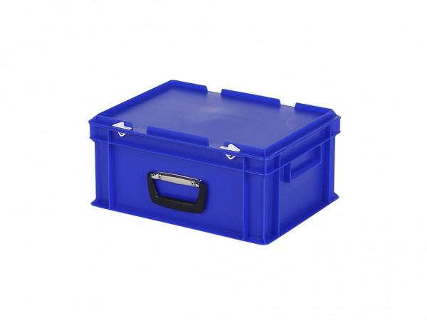 Koffer - 400x300xH190mm - blauw