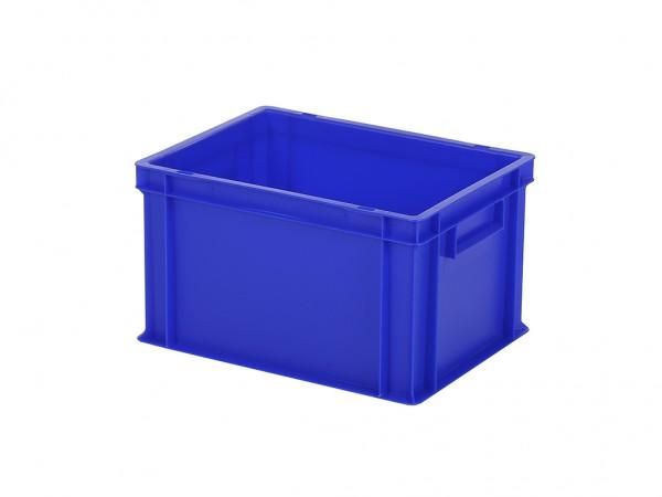 Stapelbak / Bordenbak - 400x300xH236mm - blauw