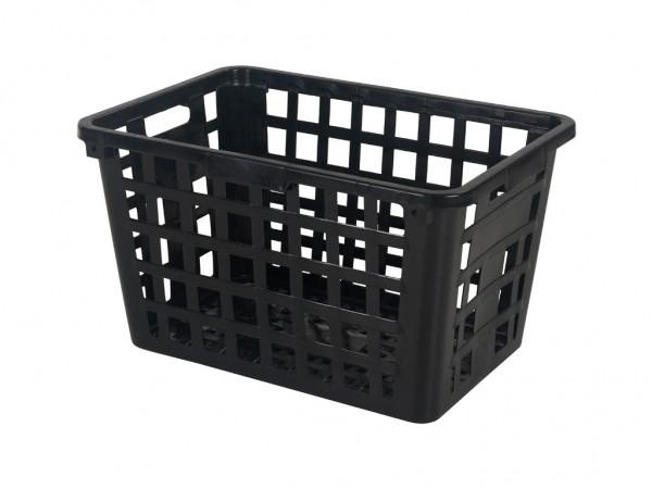 Wasmand zonder beugels - 134 liter - zwart