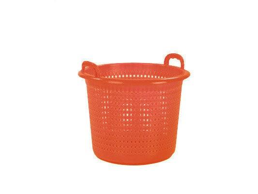 Industriemand / Wasmand 45 liter - oranje