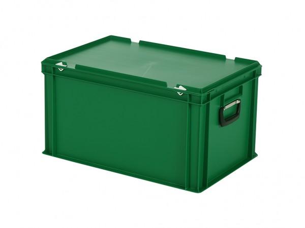 Koffer - 600x400xH335mm - groen