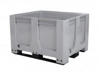 Palletbox - 1200x1000mm - 3 sledes - grijs 4429.300.554