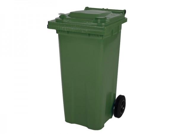 2-wiel afvalcontainer - 120 liter - groen