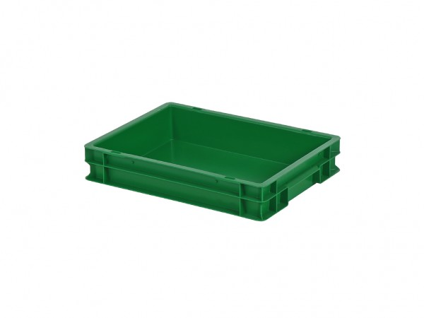 Stapelbak - 400x300xH75mm - groen