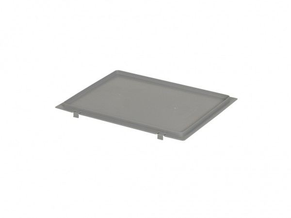 SALE - Kunststof klemdeksel 400x300mm - grijs