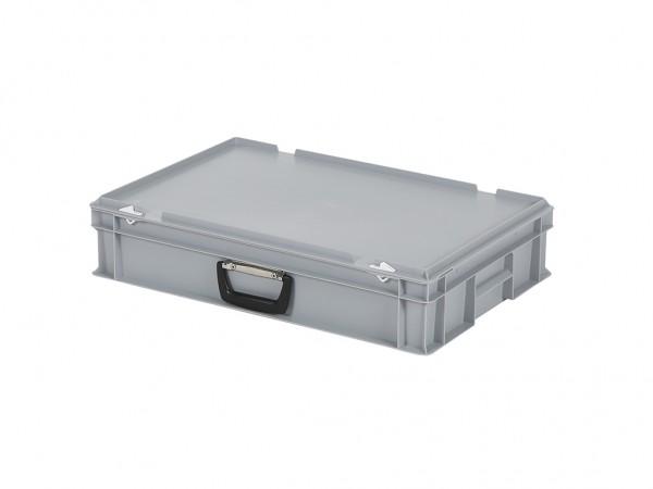 Koffer - 600x400xH135mm - grijs