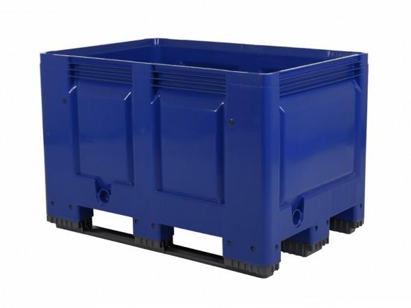 Palletbox - 1200x800mm - 3 sledes - blauw