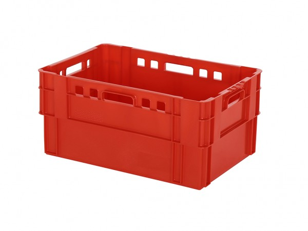 SALE - Stapel-nestbare bak - 600x400xH280mm - rood