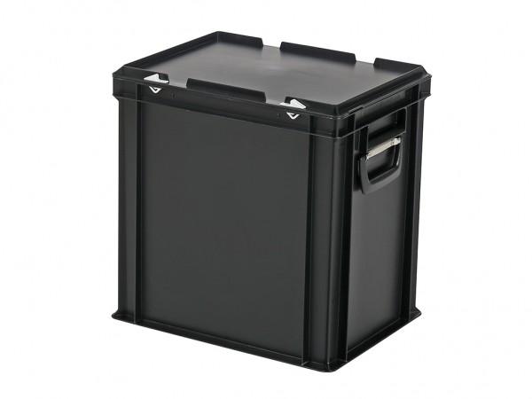 Koffer - 400x300xH415mm - zwart